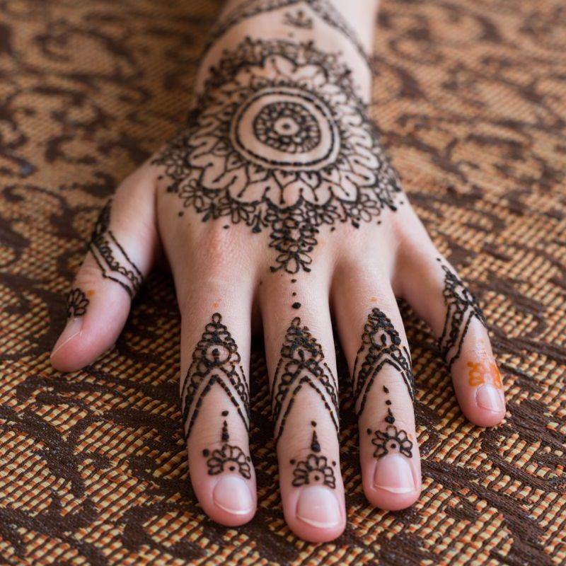 Bollywood Tatuaże henną (2)