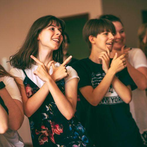 Orionowe warsztaty K-pop